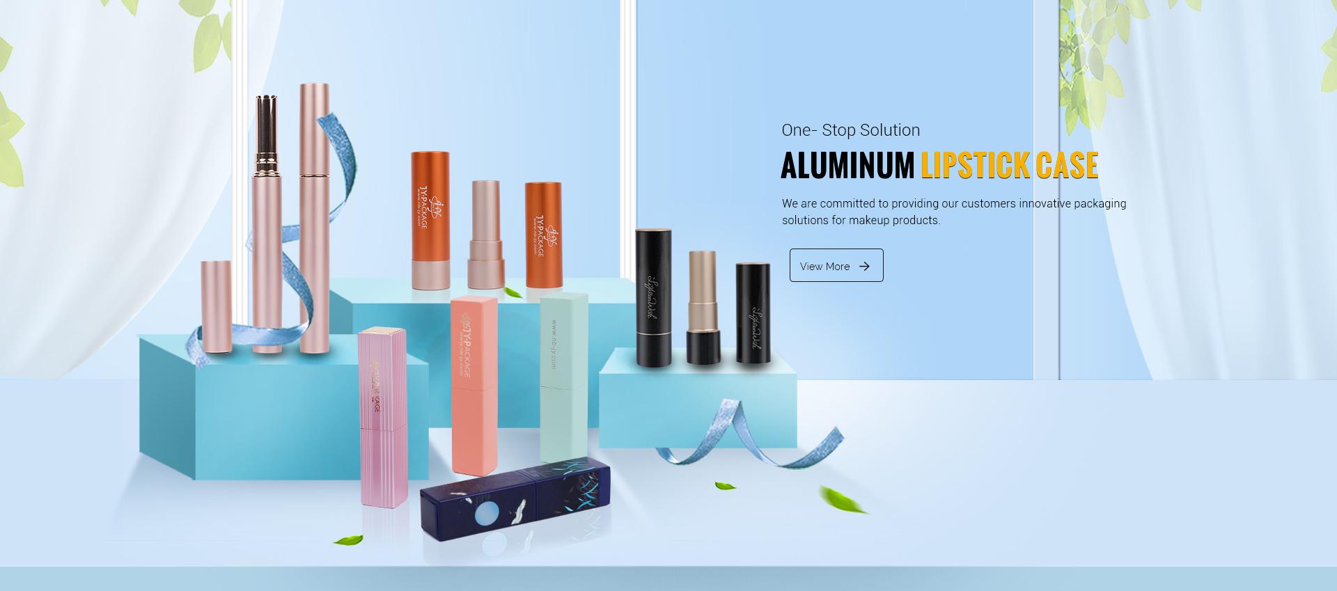 Aluminum Custom Lipstick Case